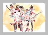 バンドリ!ガールズバンドパーティ! Ani-Art クリアファイル ハロー、ハッピーワールド!【ゲーマーズ限定】