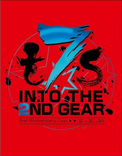 【Blu-ray】Tokyo 7th シスターズ「t7s 2nd Anniversary Live 16'→30'→34' -INTO THE 2ND GEAR-」通常盤