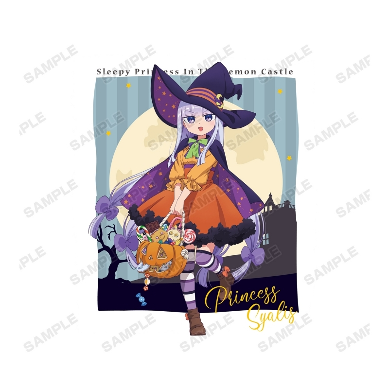 【グッズ-Tシャツ】魔王城でおやすみ 描き下ろしイラスト スヤリス姫 ハロウィンver. Tシャツメンズ(サイズ/S) サブ画像2