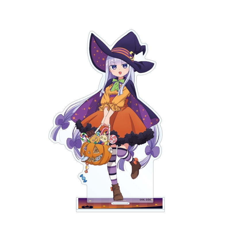 【グッズ-スタンドポップ】魔王城でおやすみ 描き下ろしイラスト スヤリス姫 ハロウィンver. BIGアクリルスタンド