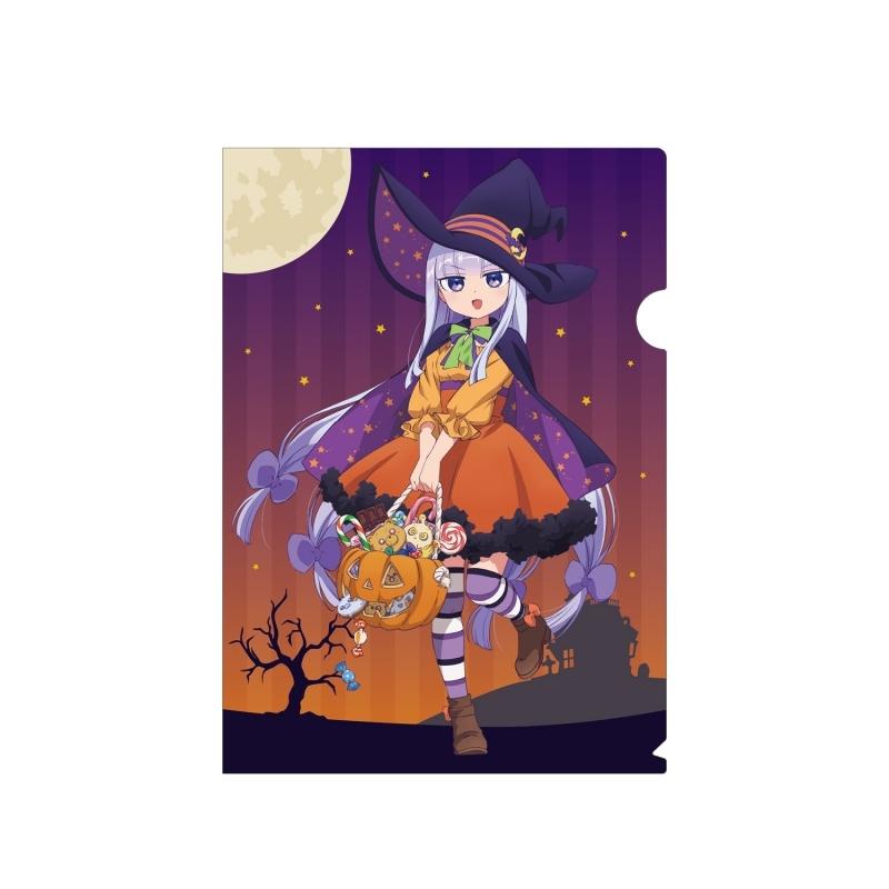 【グッズ-クリアファイル】魔王城でおやすみ 描き下ろしイラスト スヤリス姫 ハロウィンver. クリアファイル