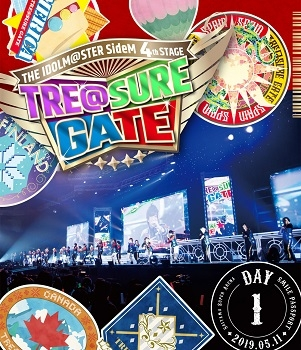 【Blu-ray】THE IDOLM@STER SideM 4th STAGE ~TRE@SURE GATE~ LIVE SMILE PASSPORT DAY1 通常版