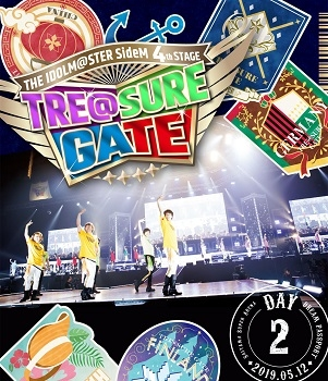【Blu-ray】THE IDOLM@STER SideM 4th STAGE ~TRE@SURE GATE~ LIVE DREAM PASSPORT DAY2 通常版