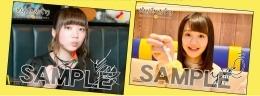 伊藤彩沙さん&尾崎由香さん複製サイン入り2Lブロマイドセット