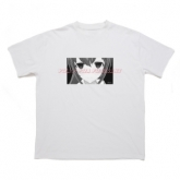 YUA/藤崎由愛 Tシャツ WHT フリーサイズ 【42FOTYTWO×VTuber】