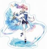 ファントム オブ キル ストラップ付キル姫アクリルキーホルダー アロンダイト・獣刻・ユニコーン