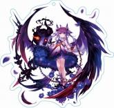 ファントム オブ キル ストラップ付キル姫アクリルキーホルダー フェイルノート・D. plug・ルシファー