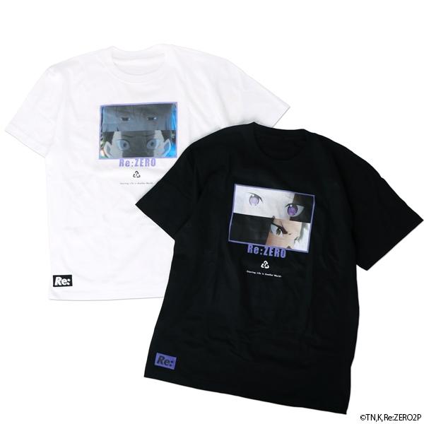 【グッズ-Tシャツ】Re:ゼロから始める異世界生活 SCENE Tシャツ ホワイト L