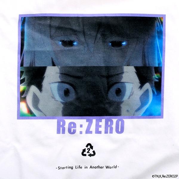 【グッズ-Tシャツ】Re:ゼロから始める異世界生活 SCENE Tシャツ ホワイト L サブ画像2