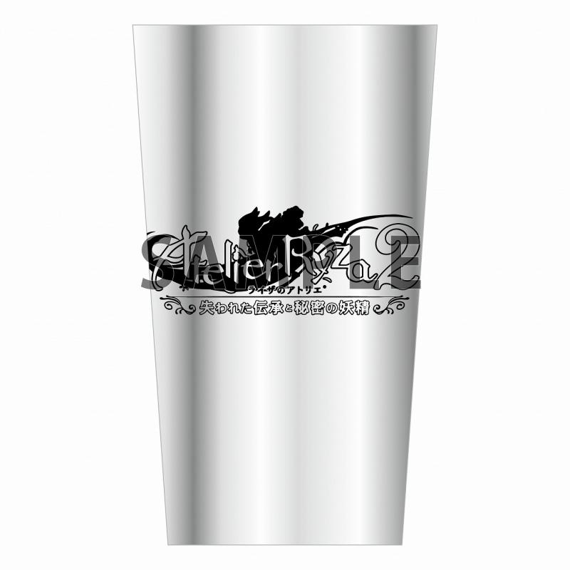 【グッズ-タンブラー・グラス】ライザのアトリエ2 ステンレスタンブラー[ロゴ]