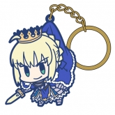 Fate/Grand Order セイバー/アルトリア・ペンドラゴン つままれキーホルダー