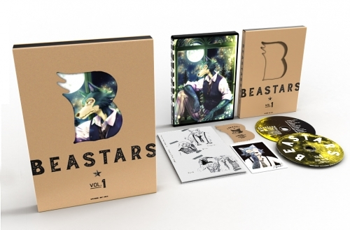 【Blu-ray】TV BEASTARS Vol.1 初回生産限定版 サブ画像3