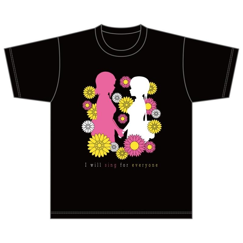 【グッズ-Tシャツ】ラブライブ!虹ヶ咲学園スクールアイドル同好会 虹ヶ咲学園購買部 公式メモリアルアイテム #12 ~「花ひらく想い」Tシャツ~(S)