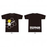 8/pLanet!! オリジナルTシャツ(Black) Sサイズ