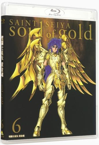【Blu-ray】OVA 聖闘士星矢 黄金魂 -soul of gold- 6