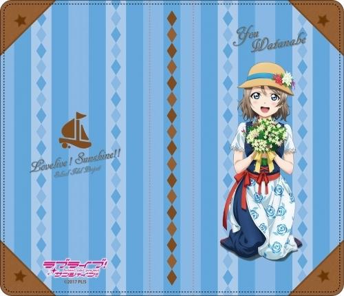 【グッズ-携帯グッズ】ラブライブ!サンシャイン!!  手帳型スマホケース 渡辺 曜 花飾りver