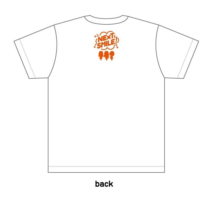 【グッズ-Tシャツ】ねんどろいどぷらす NEXT SMILE! みのりす Tシャツ 鈴木みのり L サブ画像2