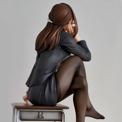 【フィギュア】みるタイツ ユイコ先生「五月病?先生が治してあげよっか?」ATBC-PVC 彩色済み完成品【特価】 サブ画像9