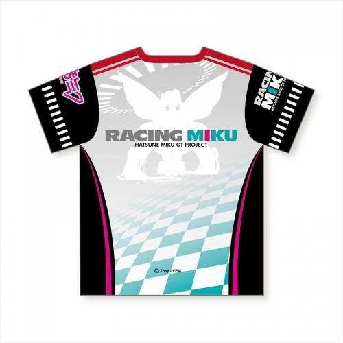 【グッズ-Tシャツ】初音ミク GTプロジェクト フルグラフィックTシャツ レーシングミク Tony 晴着 応援Ver. サブ画像2