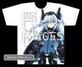 新次元ゲイム ネプテューヌV II 抱きしめTシャツネクストブラックVer.