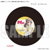 BanG Dream!(バンドリ) レコードコースター 山吹沙綾