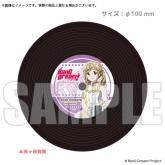 BanG Dream!(バンドリ) レコードコースター 市ヶ谷有咲