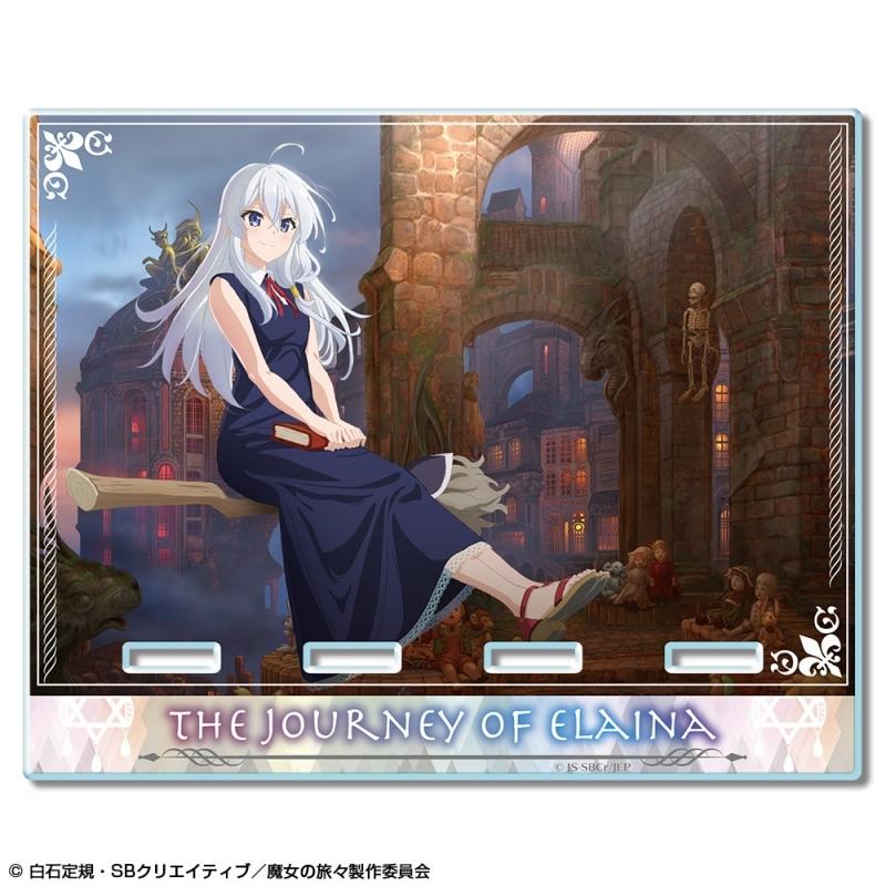 【グッズ-スタンドポップ】魔女の旅々 アクリルスマホスタンド デザイン01(イレイナ/A)