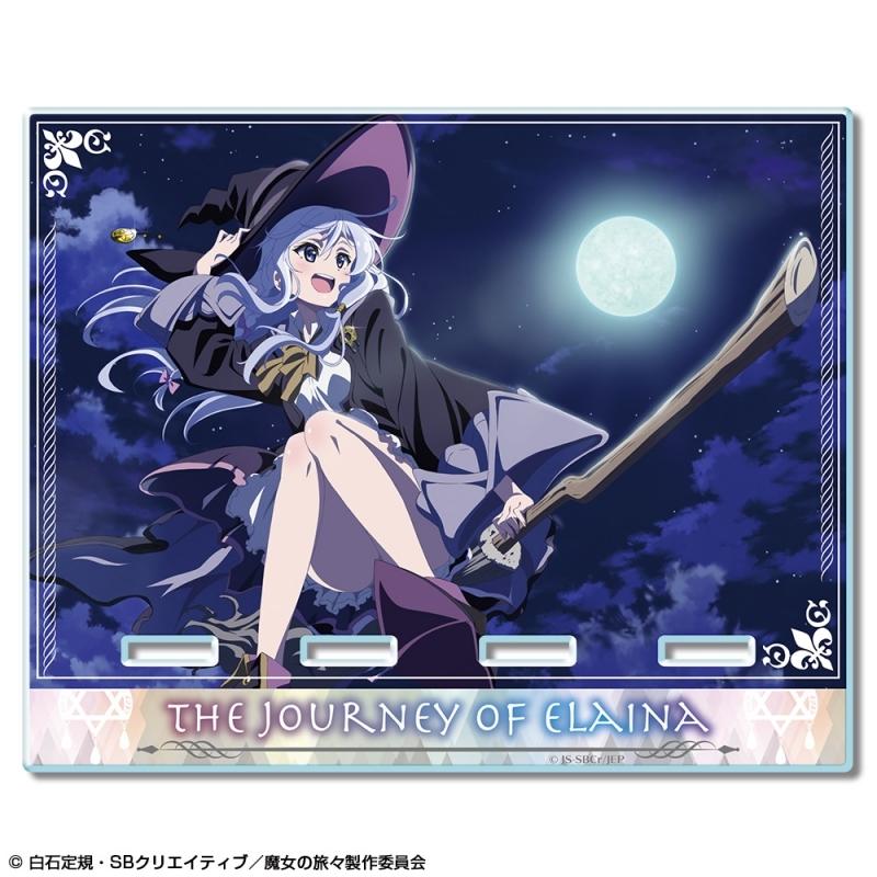 【グッズ-スタンドポップ】魔女の旅々 アクリルスマホスタンド デザイン02(イレイナ/B)