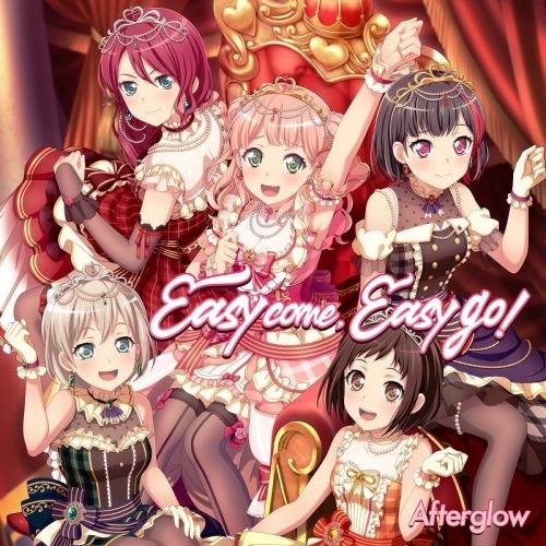 【キャラクターソング】BanG Dream! Afterglow 6thシングル「Easy come, Easy go!」 【通常盤】