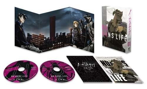 【DVD】TV ノー・ガンズ・ライフ DVD BOX 1【初回生産限定】 サブ画像2